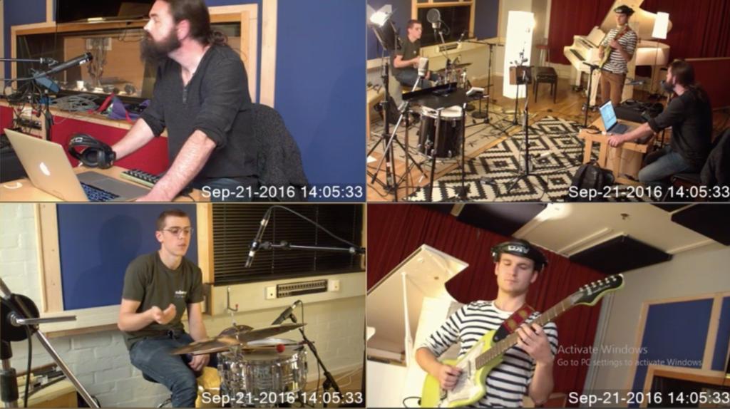 Multi-camera recording and broadcasting – Cross adaptive